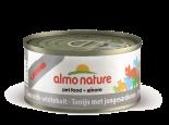 almo nature legend Tuna with White Bait 銀魚鮪魚(吞拿魚) 貓罐頭 70g